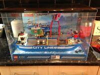 LEGO SHOP DISPLAY HARBOUR SHIP VERY RARE