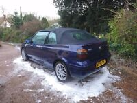 VW Golf Mk 3.5 Cabrio 2.0L Avantgarde