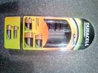 Brand new Duracell battery multi charger