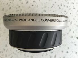 Raynox DCR-720 Wide Angle Conversion Lens 0.72X