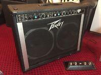 Peavey combo stereo guitar amp