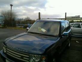 Range rover L322 spares or repair