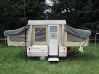 1983 Coleman Folding Camping Trailer - 6 Berth