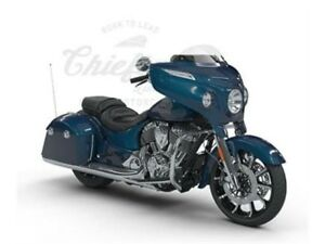 2018 Indian Motorcycles Chieftain Limited Brilliant Blue