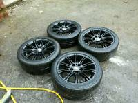 "17"" Bmw mv2 wheels"