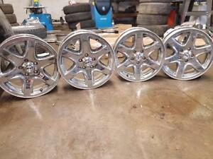 17 inch chrome clad jeep liberty rims - aluminum alloy wheels