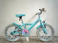 "(2090) 16"" 9"" APOLLO SPARKLE Girls Kids Childs BIKE BICYCLE; Age: 5-7; Height: 105-120 cm"