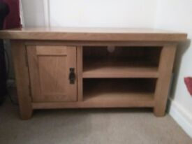 Solid , Oak TV Cabinet