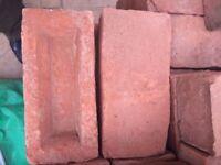 Reclaimed Victorian Bricks - 500 reddish vintage bricks
