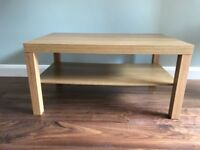 Ikea LACK Coffee table Oak effect * Perfect Condition - As New *