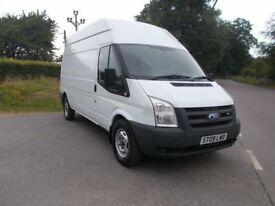 *NO VAT* 2009 09 FORD TRANSIT 2.4 TDCI LWB HIGH ROOF 350 DURATEC IN WHITE CALL 07791629657