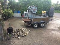 Mobile stone crusher 250x150 jaw size