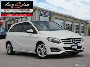 2015 Mercedes-Benz B-Class 4Matic B250 AWD ONLY 76K! **NAVIGA...