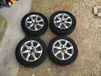 Peugeot 208 Azorte Genuine 15 inch Alloy Wheels