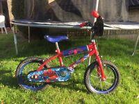 Children's Spider Man bike for sale