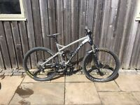 2015 Norco Fluid 7.3 650b/27.5 full suspension trail mountain bike - upgrades