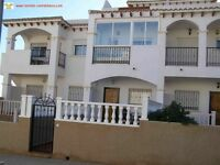 Costa Blanca, Spain. La Cinuelica, 2 bedroom townhouse, sleeps 4, English TV, A/C and Wi-Fi (SM034)