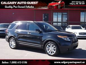 2014 Ford Explorer Limited 4WD/NAVI/B.CAM/3RD ROW/ROOF/LEATHER