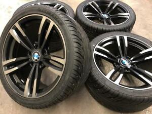 18 BMW Replica Wheels 5x120 and Summer Performance Tires (BMW 5 Series) Calgary Alberta Preview