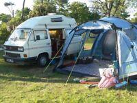 Spacious driveaway awning for campervan or motorhome - Khyam Driveaway XC