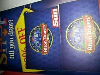 Alton Towers Tickets 18th Aug x2
