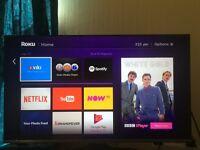 "SAMSUNG UE40J5100 40"" LED 1080p HD Freeview TV, Eco Sensor HDMI Black - Used"