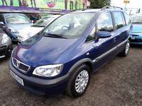 Vauxhall Zafira 2003, 7 seater , Diesel 2.0, Manual, 137000 Miles, runs prefect