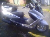 Sym Voyager gts250i scooter