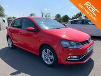 2017 Volkswagen Polo 1.0 Match Edition 5 Door **Finance & Warranty** (fabia,ibiza,fiesta,corsa)