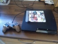 LOOK Slimline PS3 Paystation 3 Games console