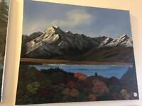 Beautiful nature painting made by Jan Williams
