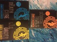 The maze runner series (books1-3)