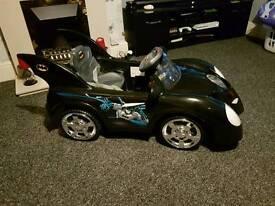Kids ride on 6v batmobile