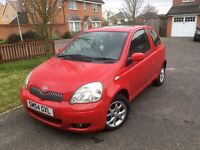Toyota Yaris 1.0 VVT-i T Spirit 3dr, Red, Reliable, Cheap Insurance