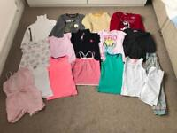 Bundle of girls clothes aged 5-7 years