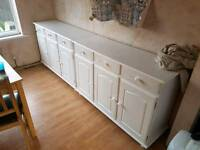 Sideboards white pine x2