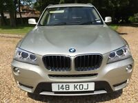 Dec 2011 (61reg) BMW X3 2.0 TD XDrive Automatic - Great Spec - Part Ex Welcome - Delivery Available
