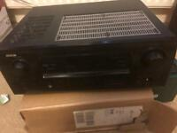 Denon AVR 1708 7.1 channel 110 watt receiver