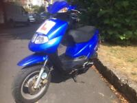 TGB 202 scooter/moped 50cc ONLY 4200 MILES FROM NEW