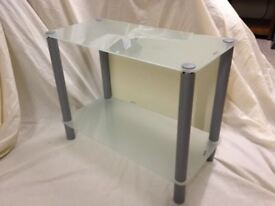 Glass TV Stand or general purpose side unit.