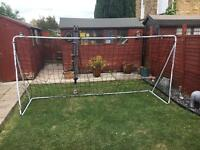 2 portable football goals. 3m x 1.5m and training cones