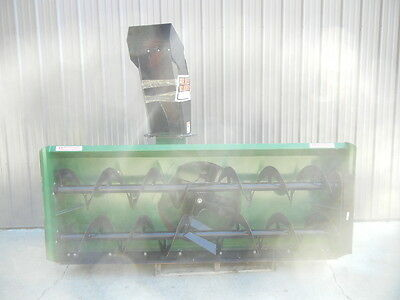"LANKOTA 23508 USED 96"" W X 38"" H HYDRAULIC SNOWBLOWER 2-14"" AUGERS 540 RPM 23508"