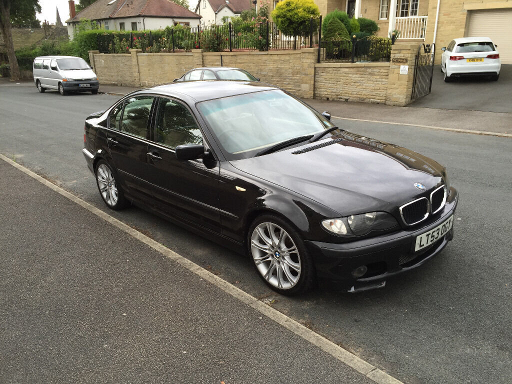2003 53 bmw 320d m sport e46 black leathers 94k in shipley west yorkshire gumtree. Black Bedroom Furniture Sets. Home Design Ideas