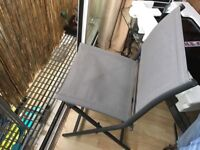 Sturdy Foldable Outdoor Garden Chair for £10