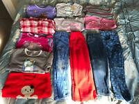 Age 4-5 girls clothes bundle (smoke free, pet free)