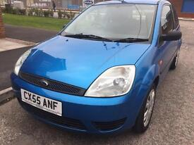 2005 FORD FIESTA STYLE TDCI 1.4 DIESEL 3 DOOR FULL SERVICE HISTORY ONE FORMER KEEPER LOW MILEAGE***