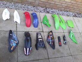 Motorbike plastics