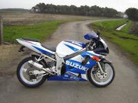 Suzuki GSXR 600 K2, 2002