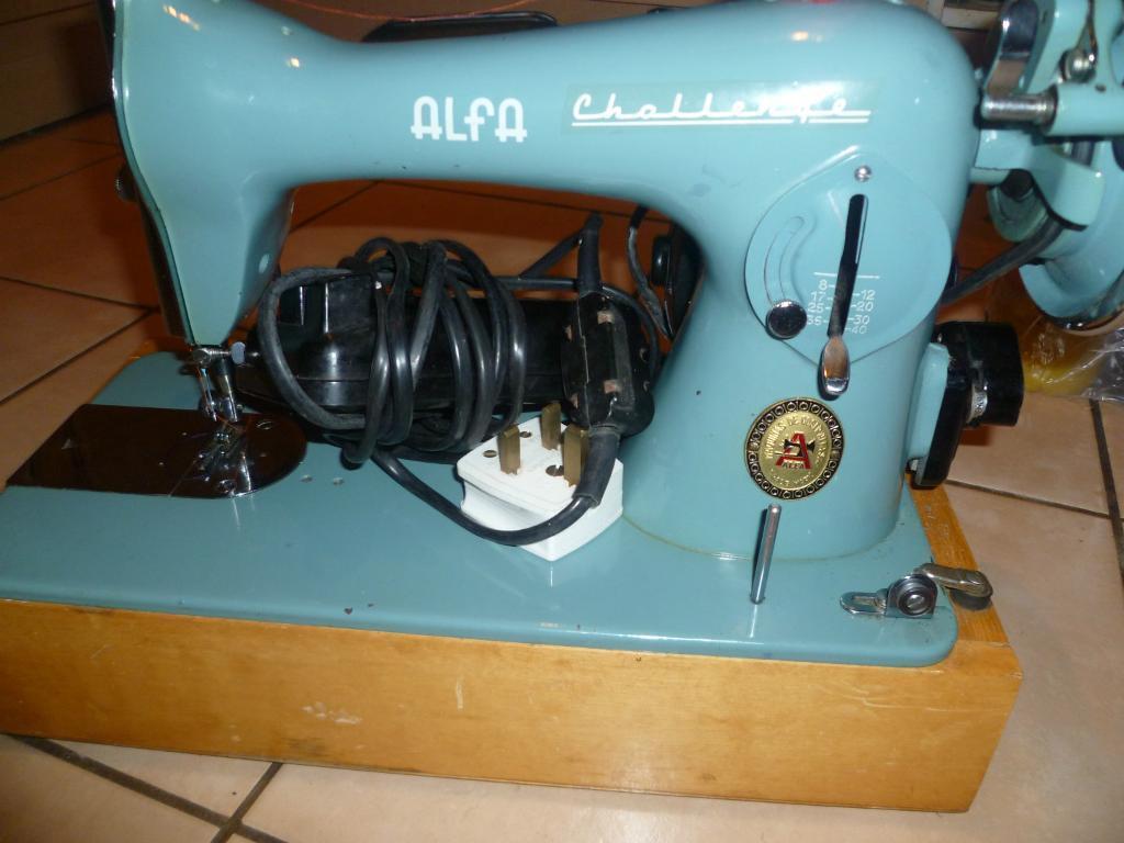 Alfa Challenge Heavy Duty Semi Industrial Sewing Machine In