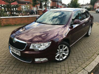 2010 (60) SKODA SUPERB 2.0 TDI DSG AUTOMATIC CR SE 5 DOOR EXCELLENT CONDITION 3 KEYS